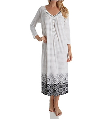 Aria Long Sleeve Long Nightgown