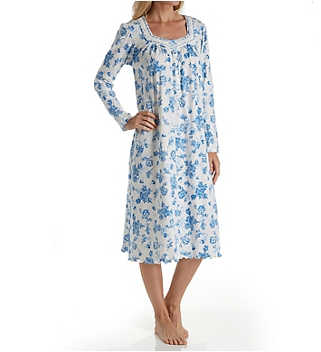 Aria Blue Serenity Long Sleeve Ballet Nightgown
