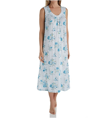 Aria Blue Afternoon Sleeveless Ballet Nightgown