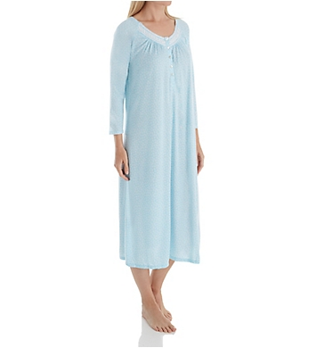 Aria Watercolor 3/4 Sleeve Ballet Nightgown