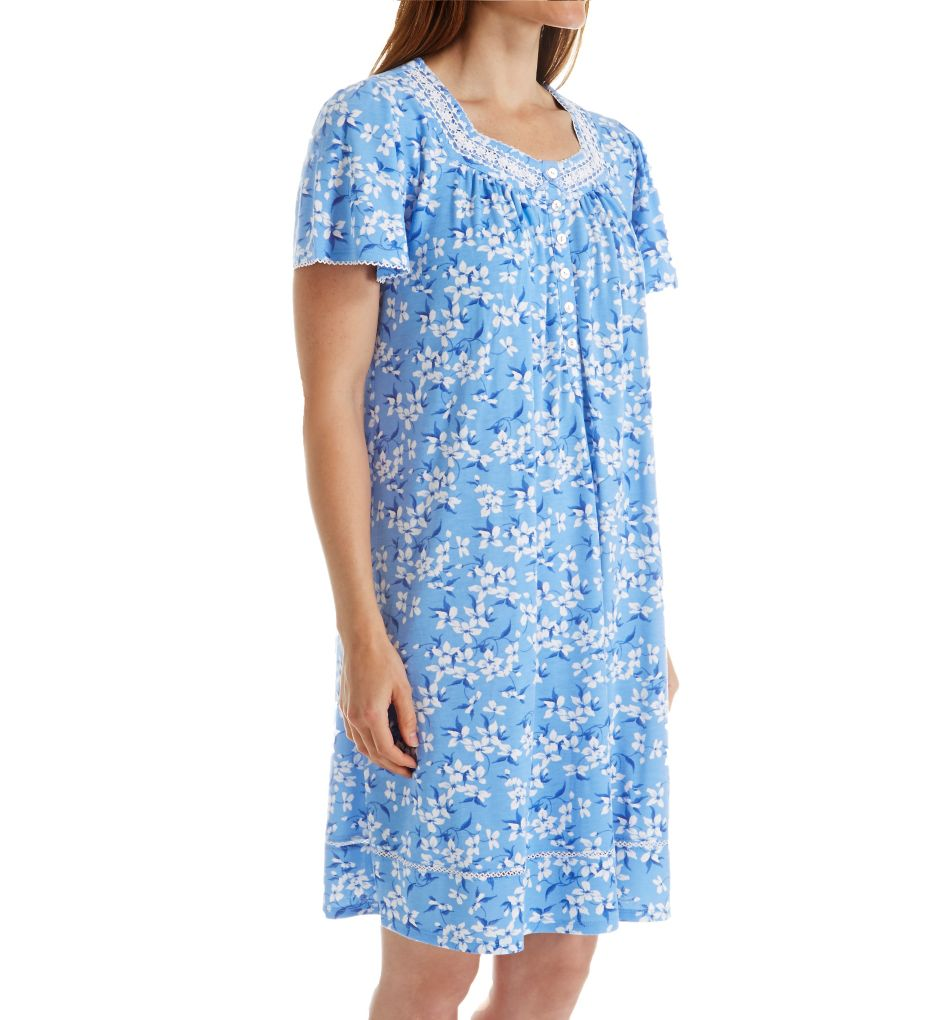 Aria Short Sleeve Short Nightgown