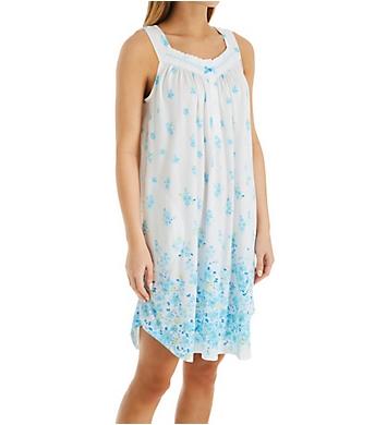 Aria Breeze Cotton Jersey Sleeveless Short Gown