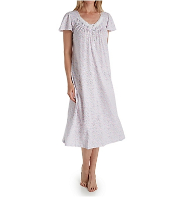 Aria Lavender Dream Short Sleeve Ballet Nightgown