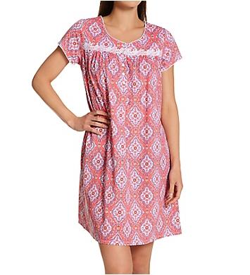 Aria Short Sleeve Short Nightgown
