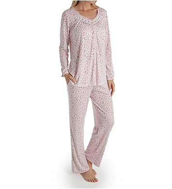 Aria Pink Dreams Long Sleeve Button Front PJ Set