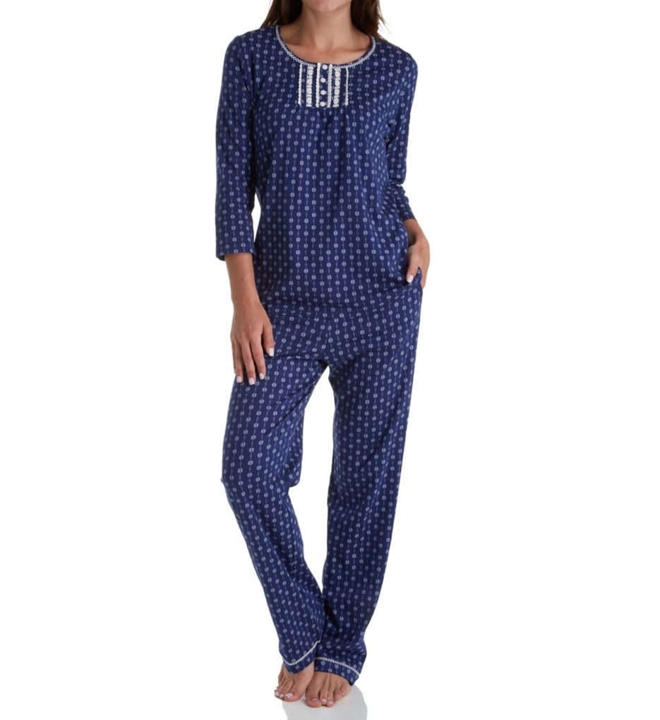 Aria Ditsy Long PJ Set