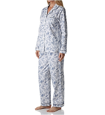 Aria Flannel Long Sleeve Pajama Set