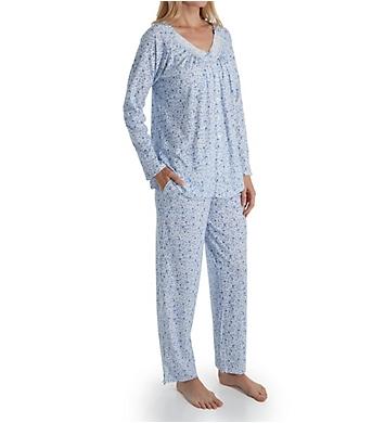Aria Blue Sky Long Sleeve Long Pant PJ Set