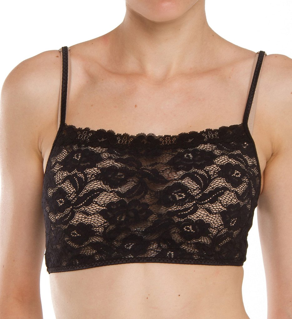 Arianne : Arianne 5316 Pikabu Unlined Mini Lace Cami (Black S)