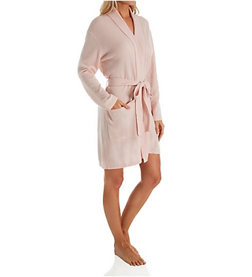 Arlotta Cashmere Classic Short Robe With Shawl Collar