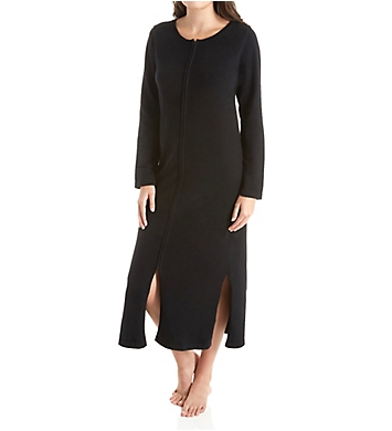 Arlotta Long Front Zipper Cashmere Robe