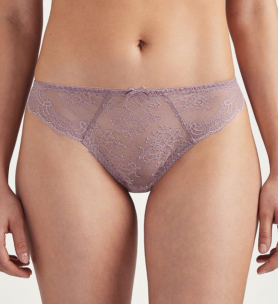Aubade - Aubade OG26 Dans des Sens Lace Tanga Panty (Eau De Rose XL)
