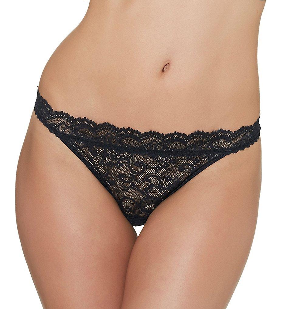 Aubade - Aubade P020B Boite a Desir Cheeky Brief Panty (Black O/S)