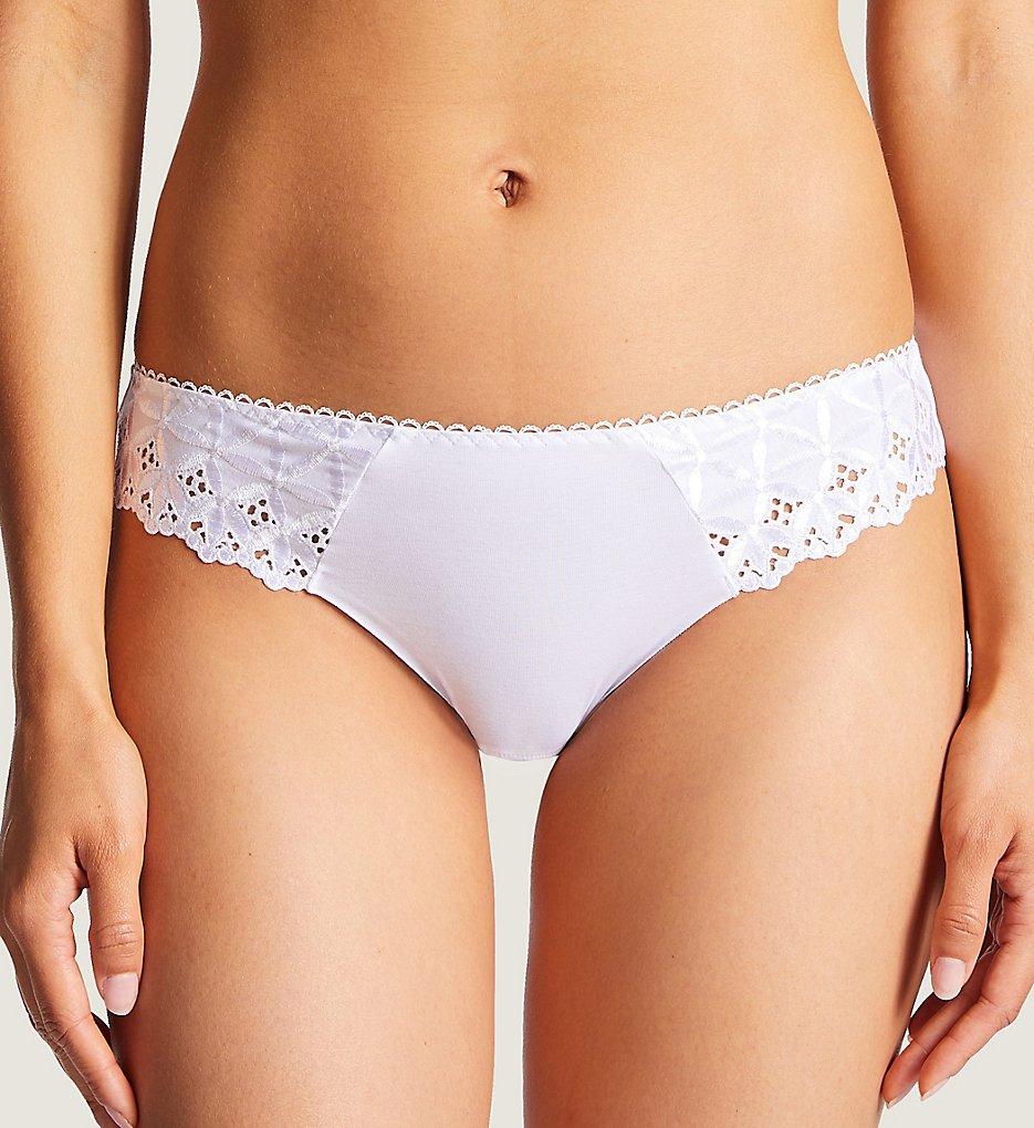 Aubade - Aubade PY22-1 Bahia & Moi Braz Brief Panty (White XS)