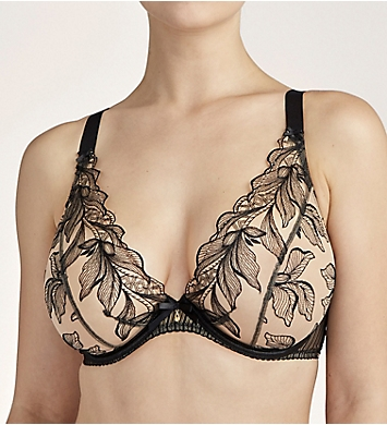 Aubade Fleur De Tattoo Comfort Plunging Bra