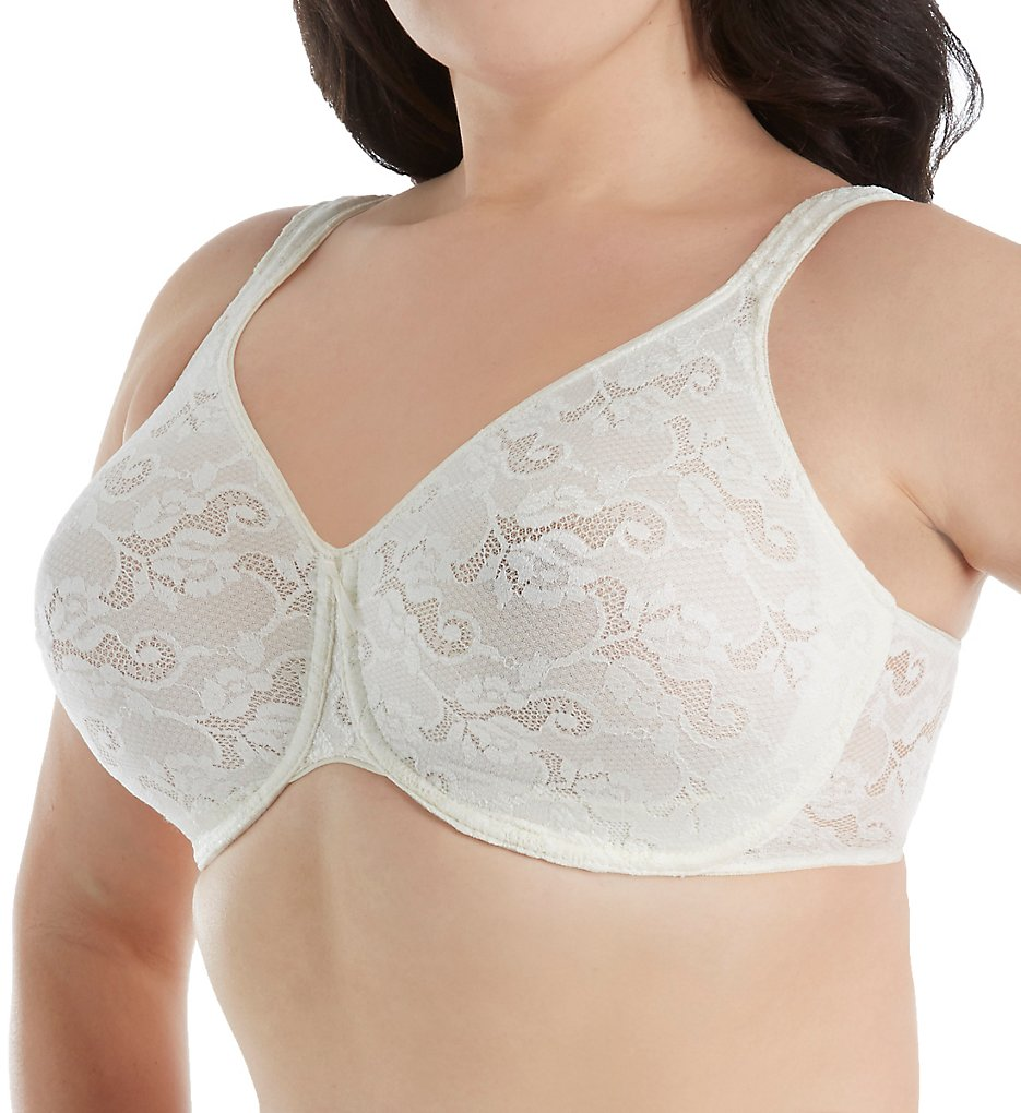 Aviana 2459 All Over Lace Underwire Bra (Candlelight)