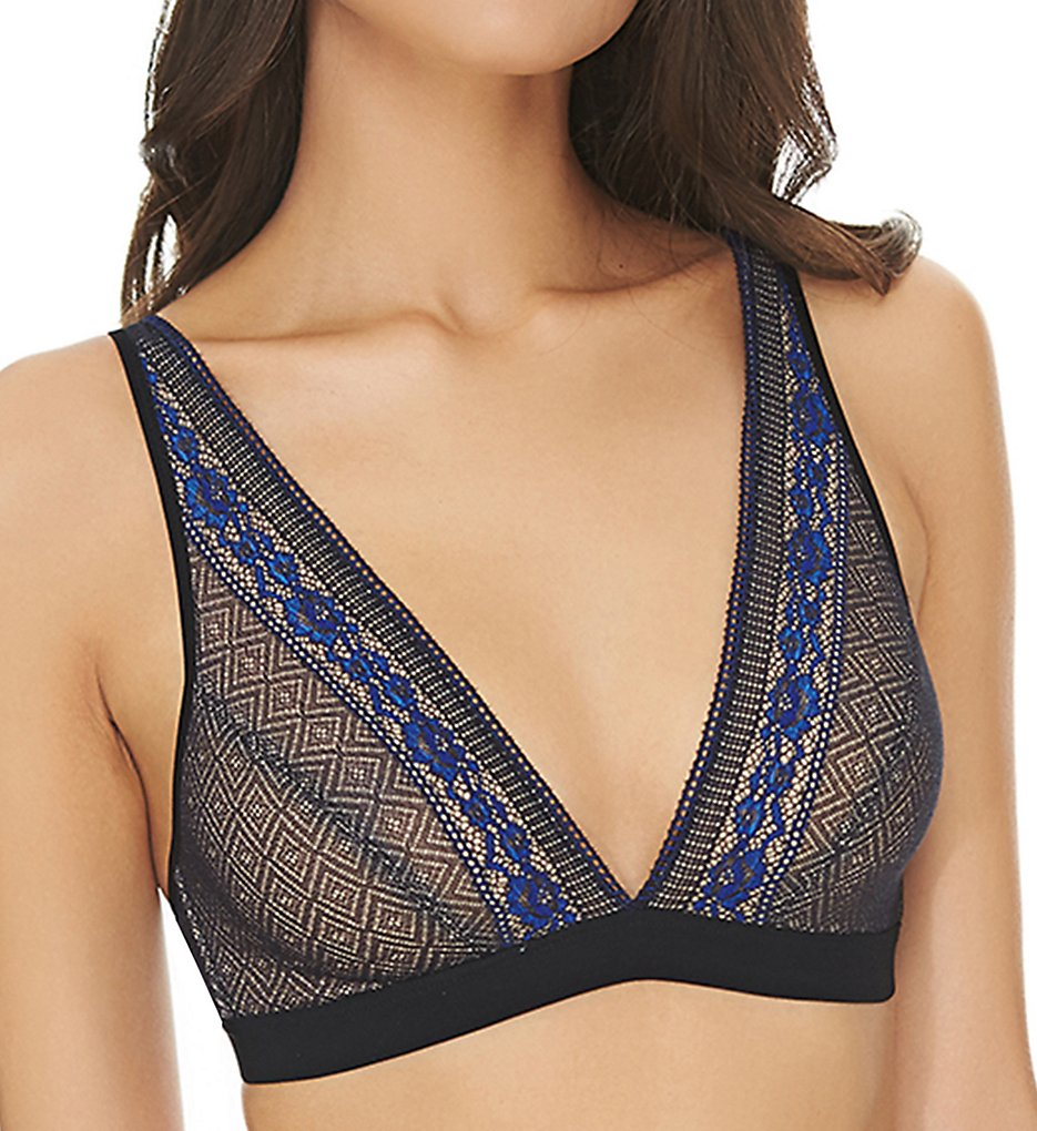 b.tempt'd by Wacoal : b.tempt'd by Wacoal 910251 b.inspired Bralette (Night/Dazzling Blue S)