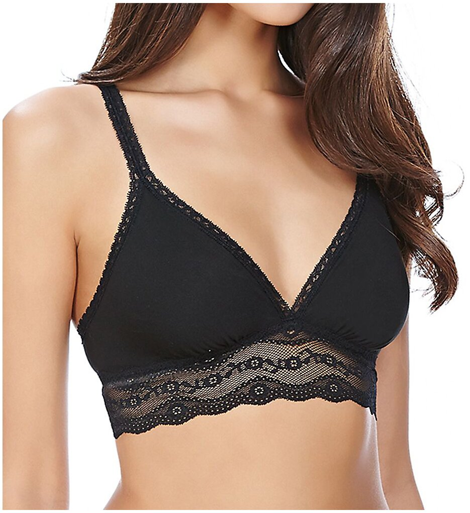 b.tempt'd by Wacoal - b.tempt'd by Wacoal 935182 b.adorable Bralette (Night Black XL)