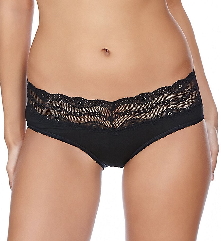 b.tempt'd by Wacoal - b.tempt'd by Wacoal 938182 b.adorable Hipster Panty (Night Black S)
