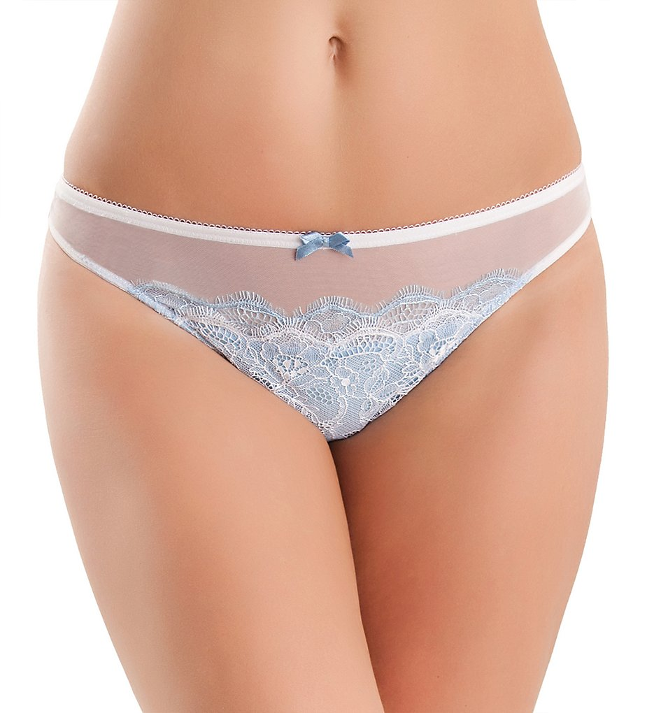 b.tempt'd by Wacoal : b.tempt'd by Wacoal 942261 b.sultry Thong (Bridal White L)
