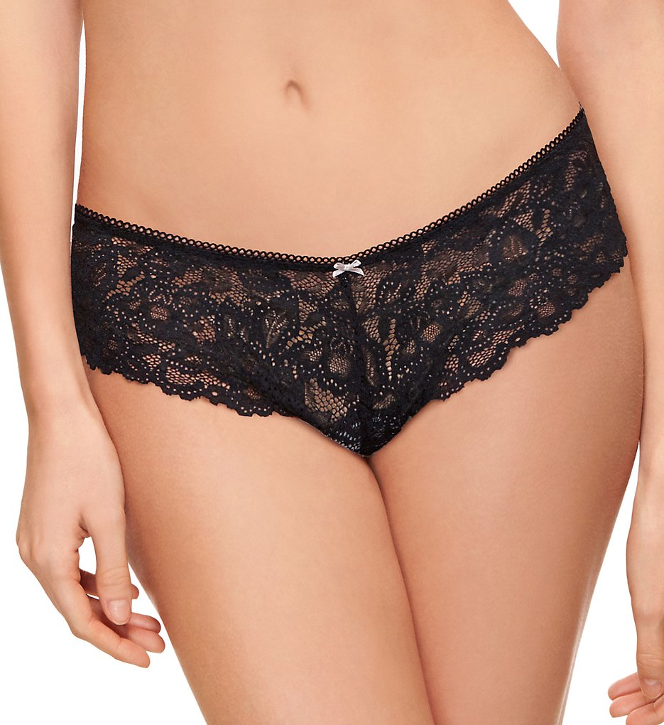 b.tempt'd by Wacoal >> b.tempt'd by Wacoal 945232 b.charming Tanga Panty (Blackened Pearl S)