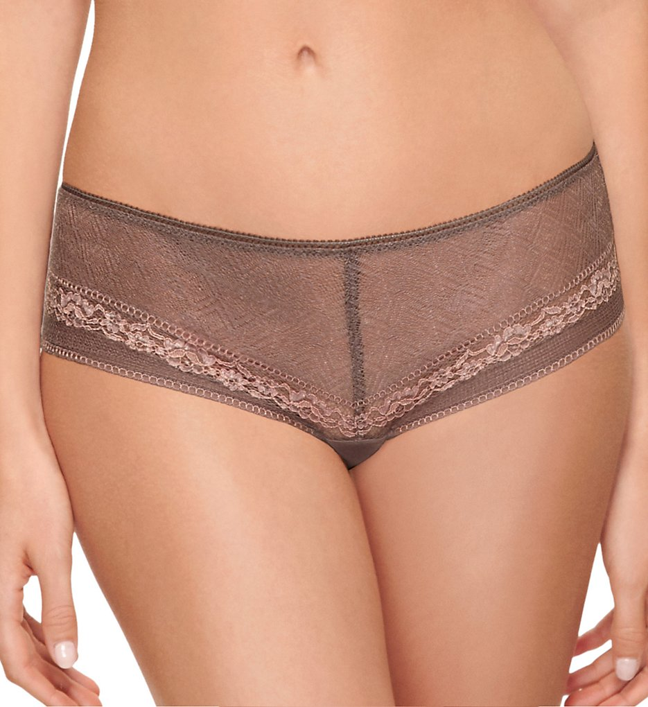 b.tempt'd by Wacoal - b.tempt'd by Wacoal 945251 b.inspired Hipster Panty (Deep Taupe/Rose Smoke XL)