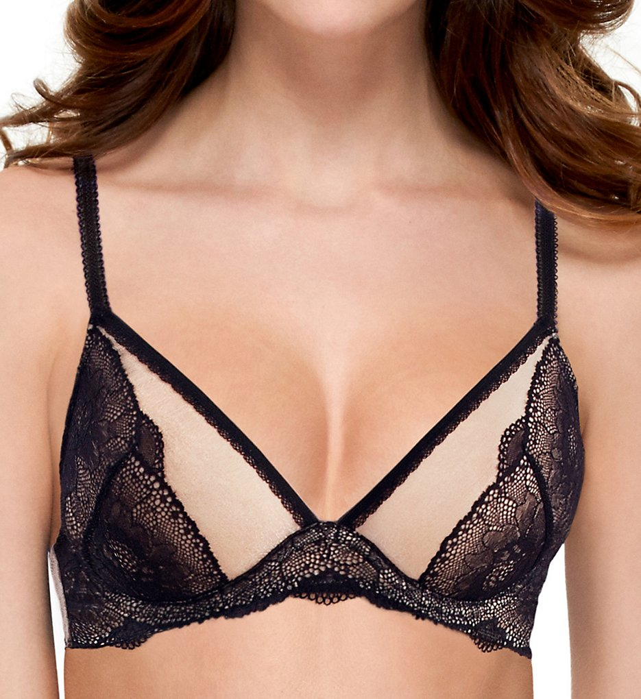 b.tempt'd by Wacoal : b.tempt'd by Wacoal 951222 b.provocative Underwire Bra (Night Black 32D)