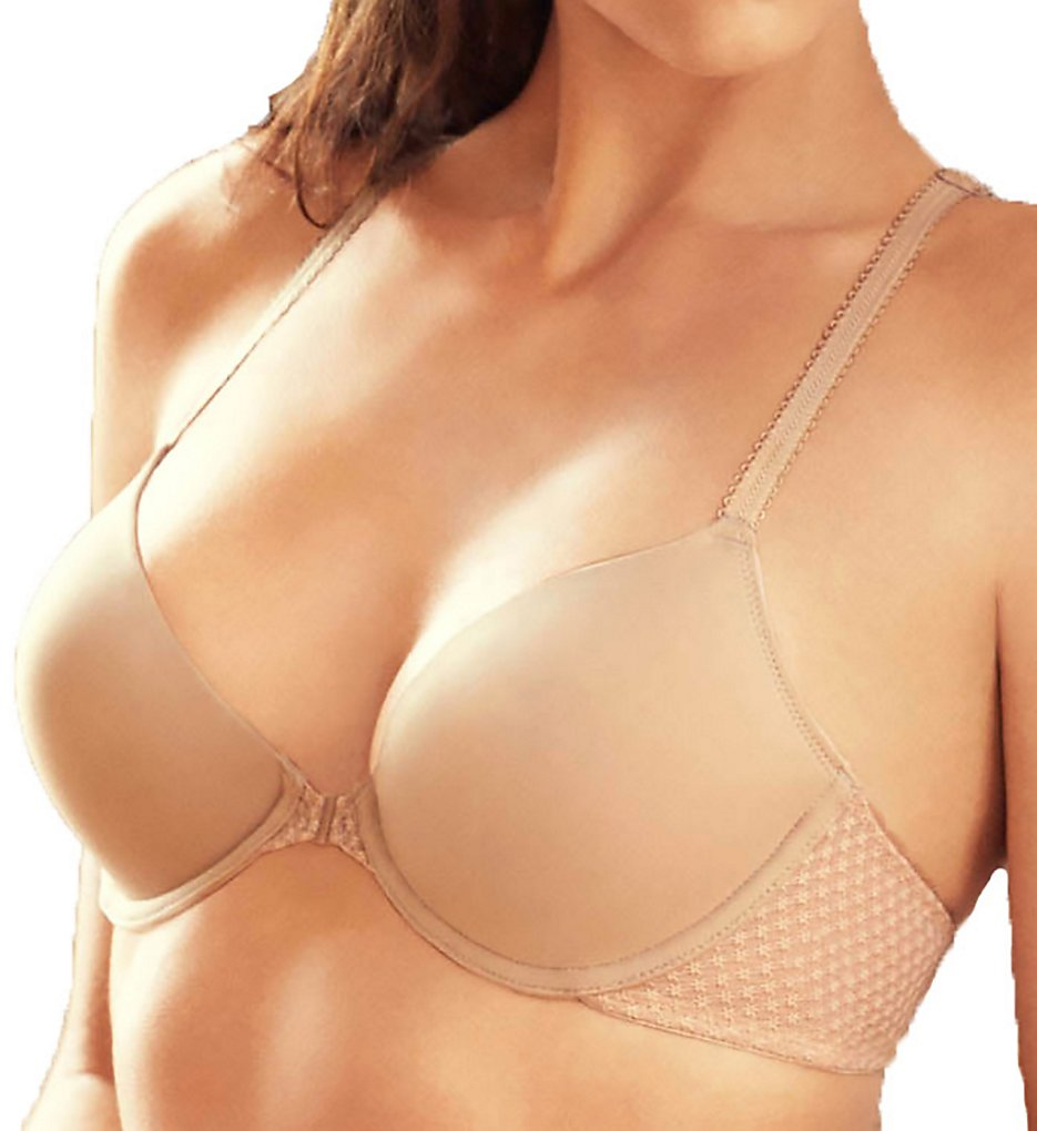 b.tempt'd by Wacoal >> b.tempt'd by Wacoal 953203 b.captivating Contour Front-Close Bra (Au Natural 34B)