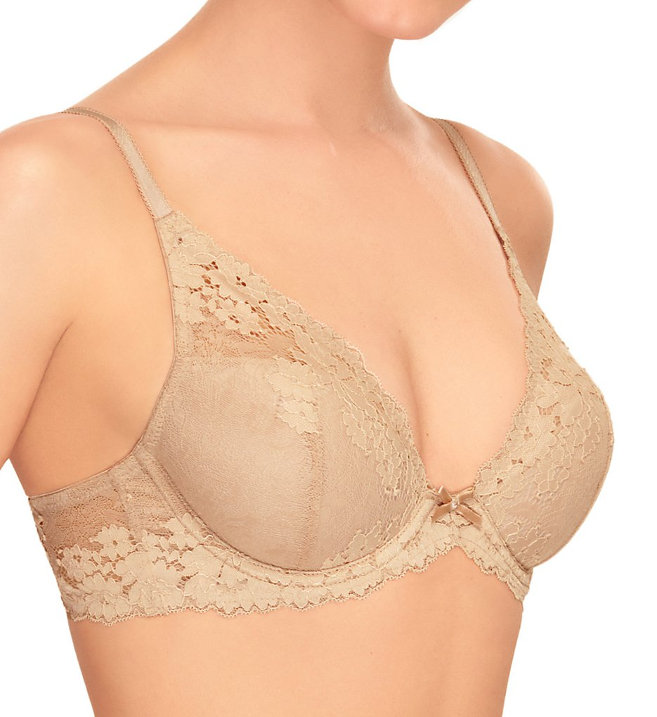b.tempt'd by Wacoal >> b.tempt'd by Wacoal 953229 Insta Ready Plunge Contour Bra (Au Natural 34B)