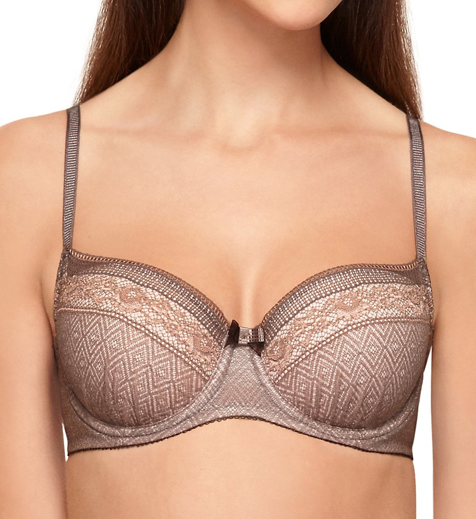 b.tempt'd by Wacoal : b.tempt'd by Wacoal 953251 b.inspired Contour Underwire Bra (Deep Taupe/Rose Smoke 32B)