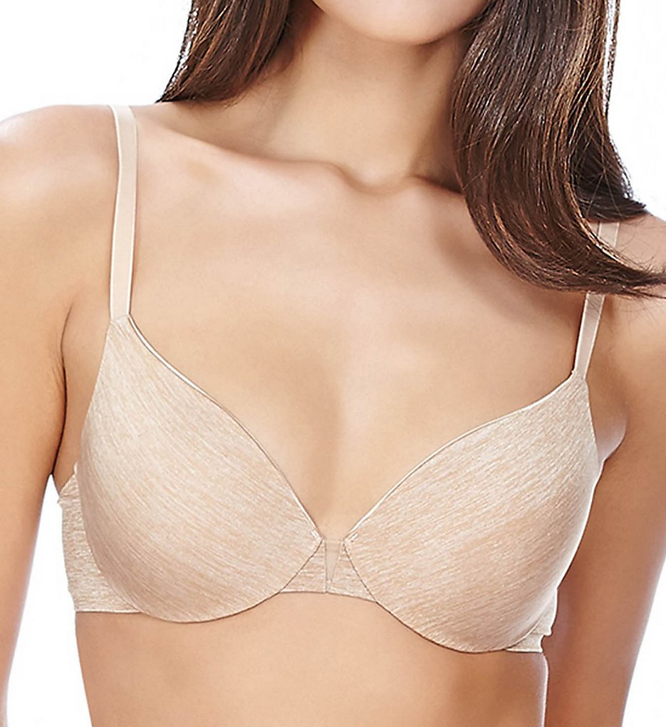 b.tempt'd by Wacoal : b.tempt'd by Wacoal 953255 b.splendid Contour Bra (Au Natural/Heather 34B)