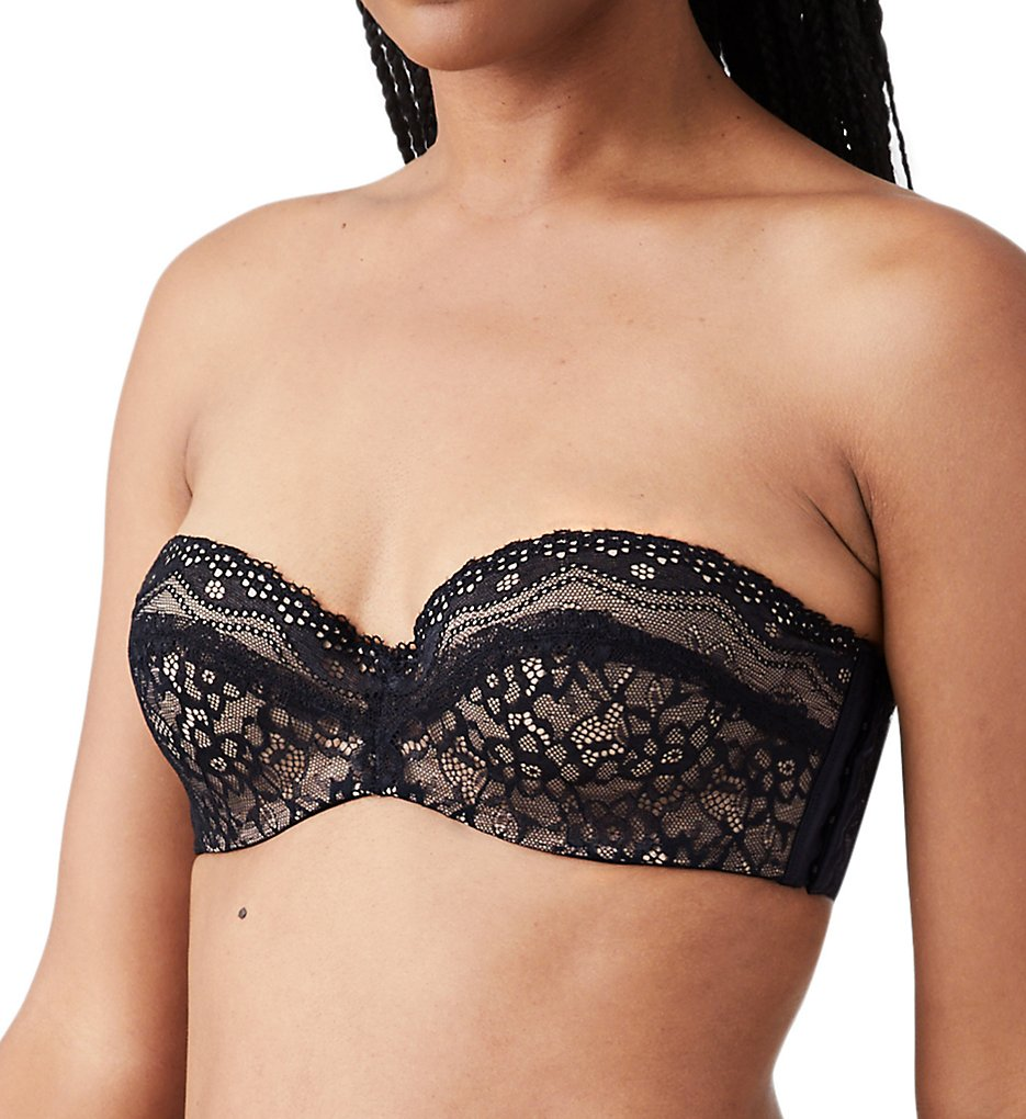 b.tempt'd by Wacoal - b.tempt'd by Wacoal 954237 b.enticing Strapless Bra (Night Black 32B)