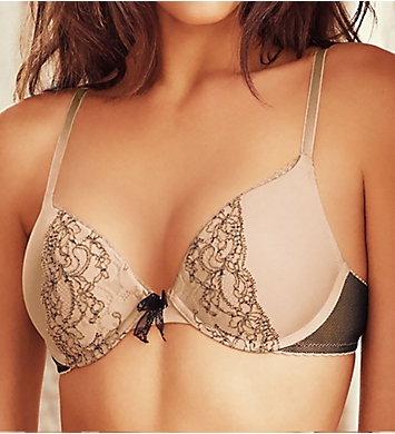 b.tempt'd by Wacoal b.dazzling Plunge Push Up Bra