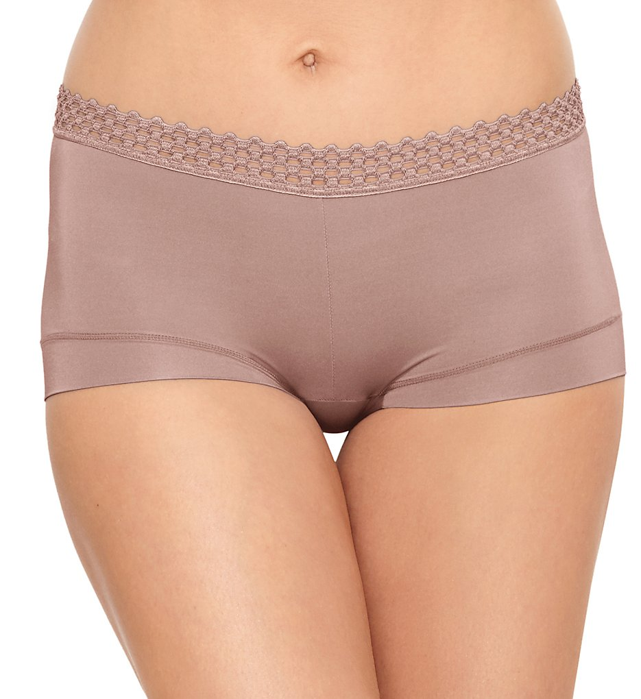 b.tempt'd by Wacoal - b.tempt'd by Wacoal 978338 Tied in Dots Boyshort Panty (Antler S)