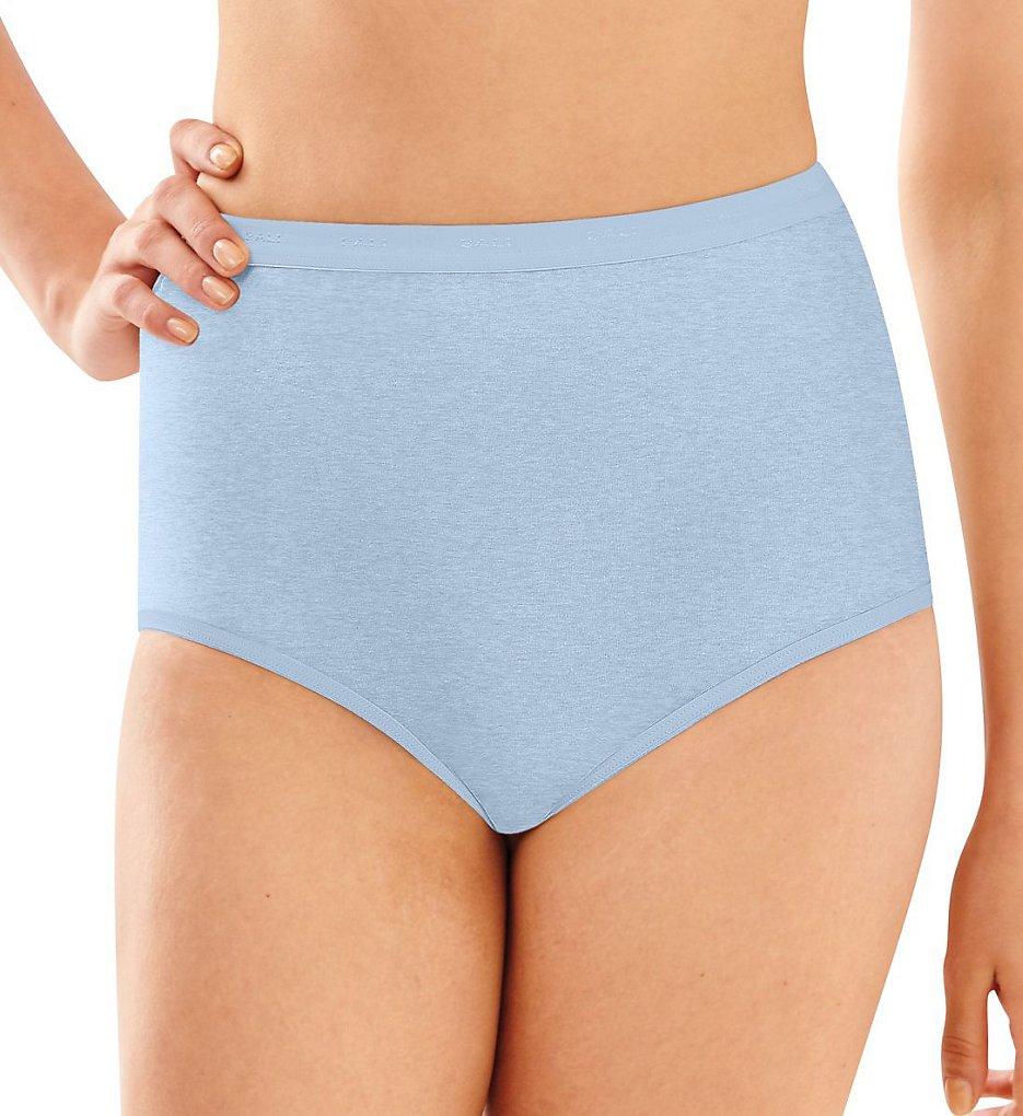 Bali 2324 Full-Cut-Fit Stretch Cotton Brief Panty