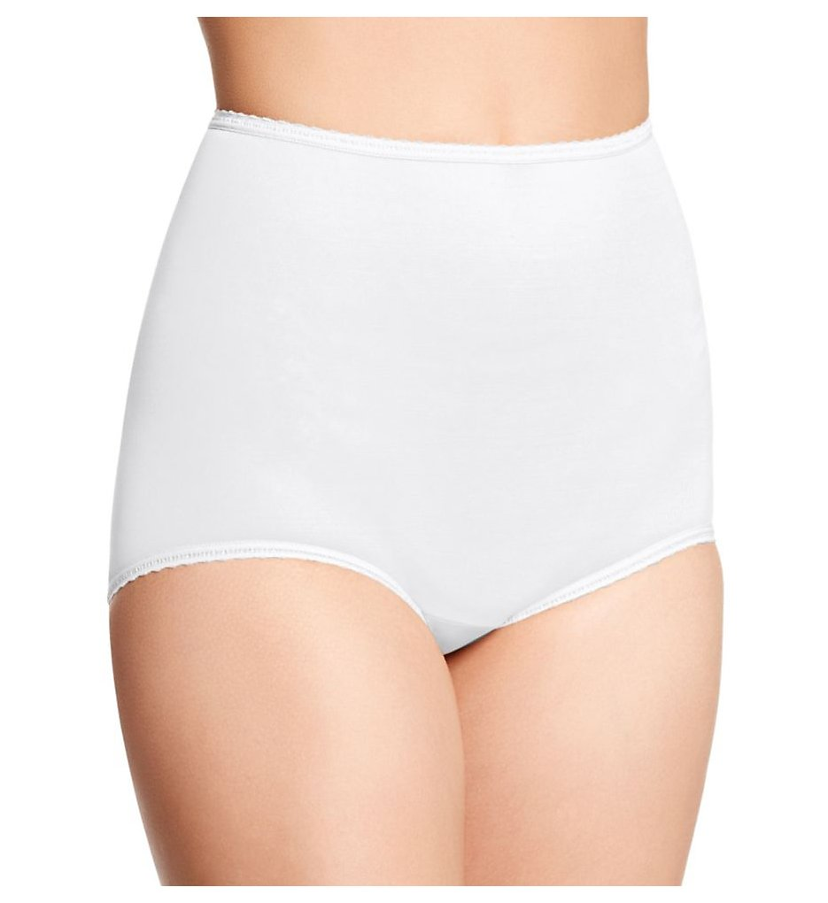 Bali - Bali 2633 Skimp Skamp Brief Panty (White 5)