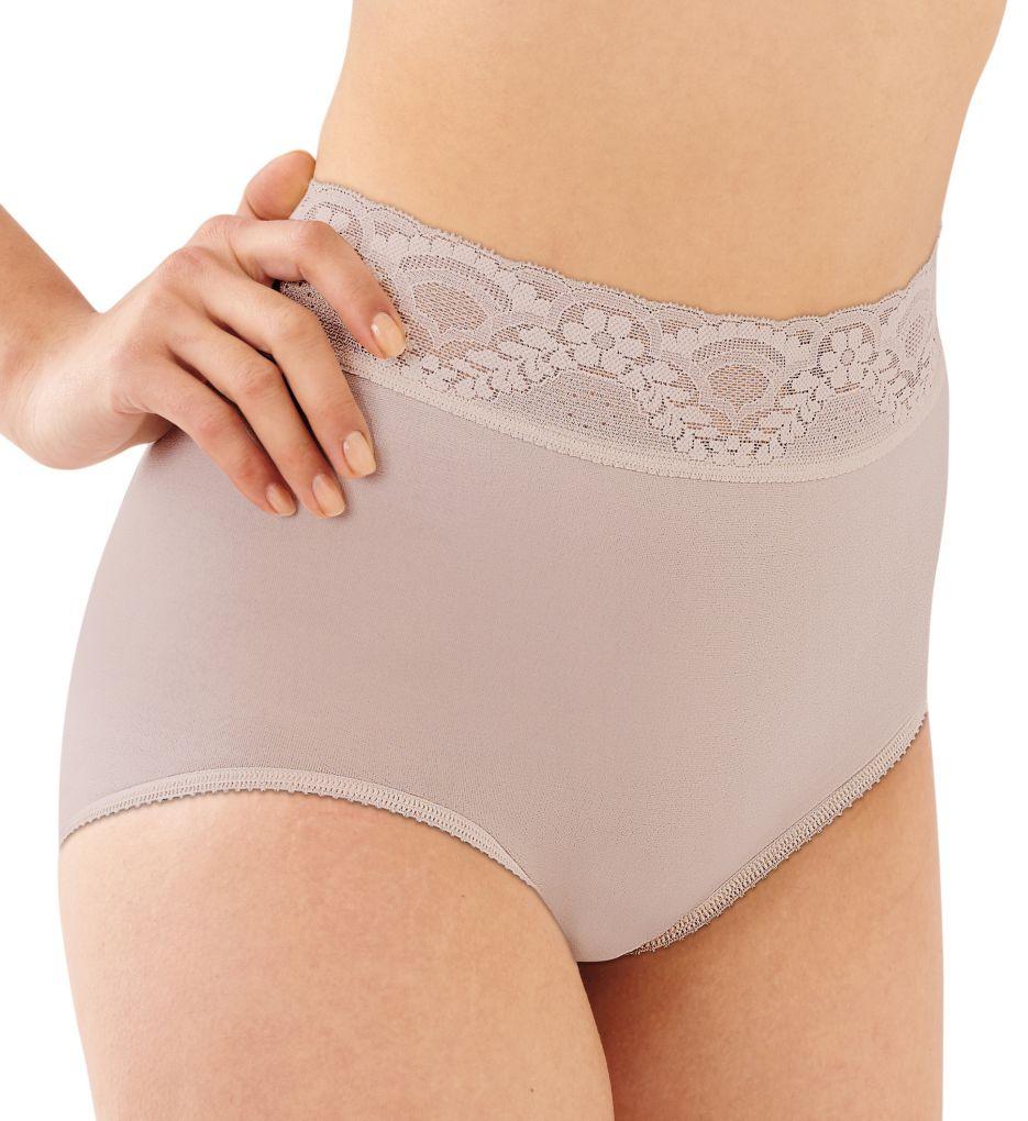 Bali Lacy Skamp Brief Panties