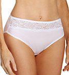 One Smooth U Comfort Indulgence Lace Hi-Cut Panty