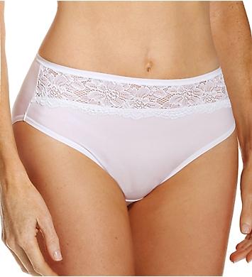 Bali One Smooth U Comfort Indulgence Lace Hi-Cut Panty