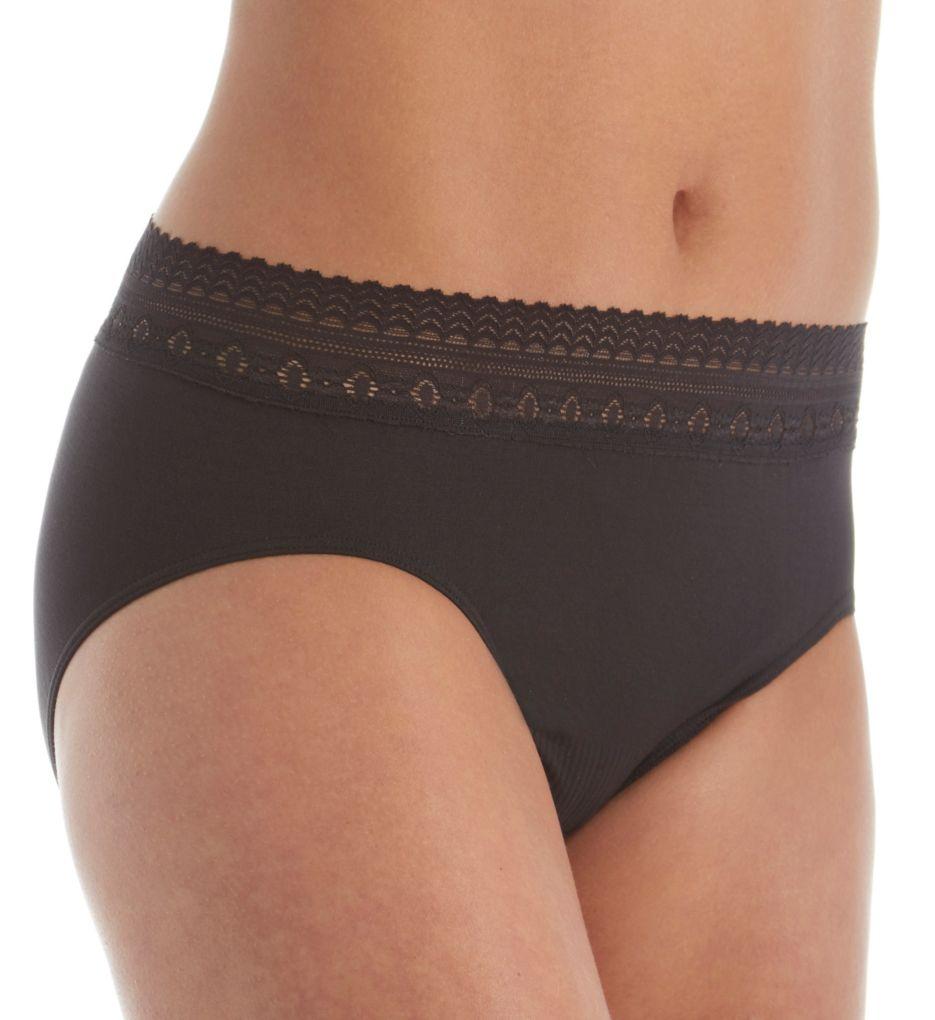 Bali Comfort Revolution Lace Trim Hipster Panty