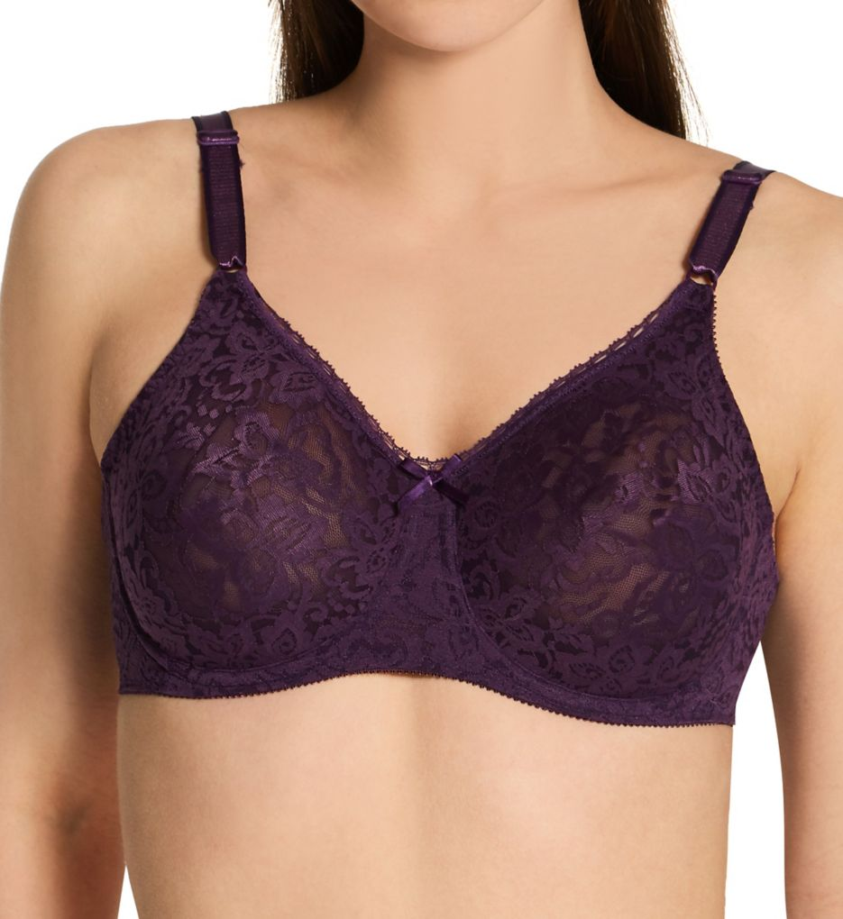 Bali Lace 'N Smooth Seamless Cup Underwire Bra