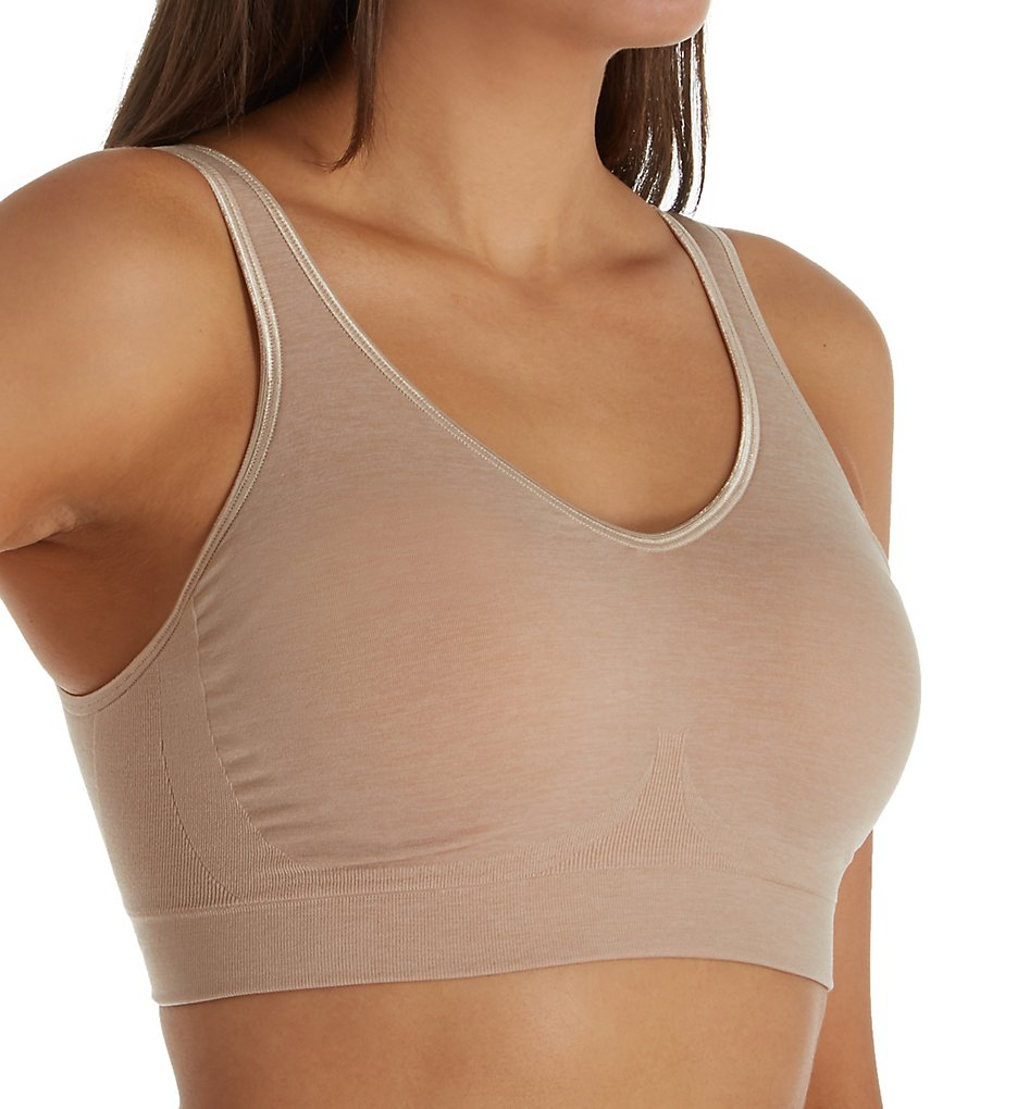 Bali 3488 Comfort Revolution Shaping Wirefree Bra (Nude Heather)