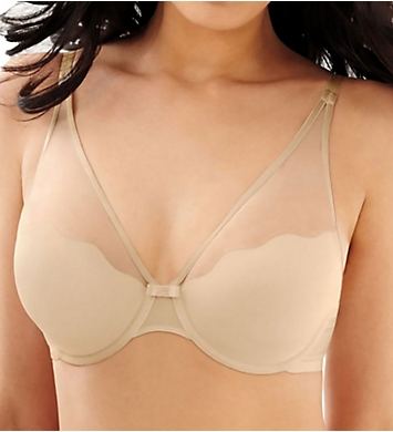 Bali Sheer Sleek Desire Foam Underwire Bra