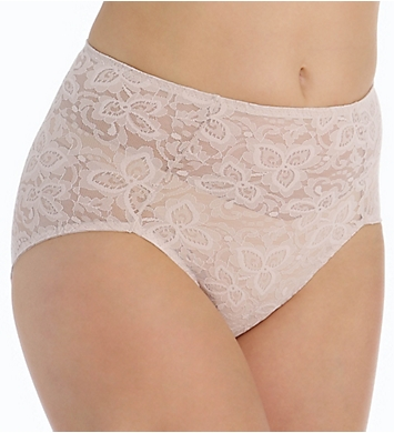 Bali Lace 'N Smooth Shaping Brief Panty