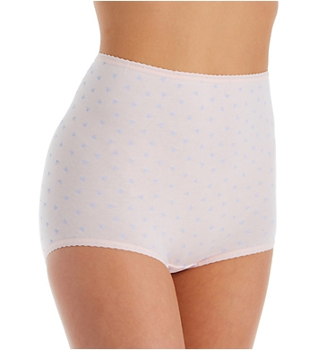 Bali Cool Cotton Skimp Skamp Brief Panty - 3 Pack
