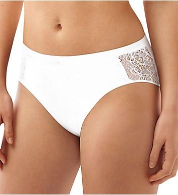 Bali Lace Desire Cotton Hi-Cut Brief Panty