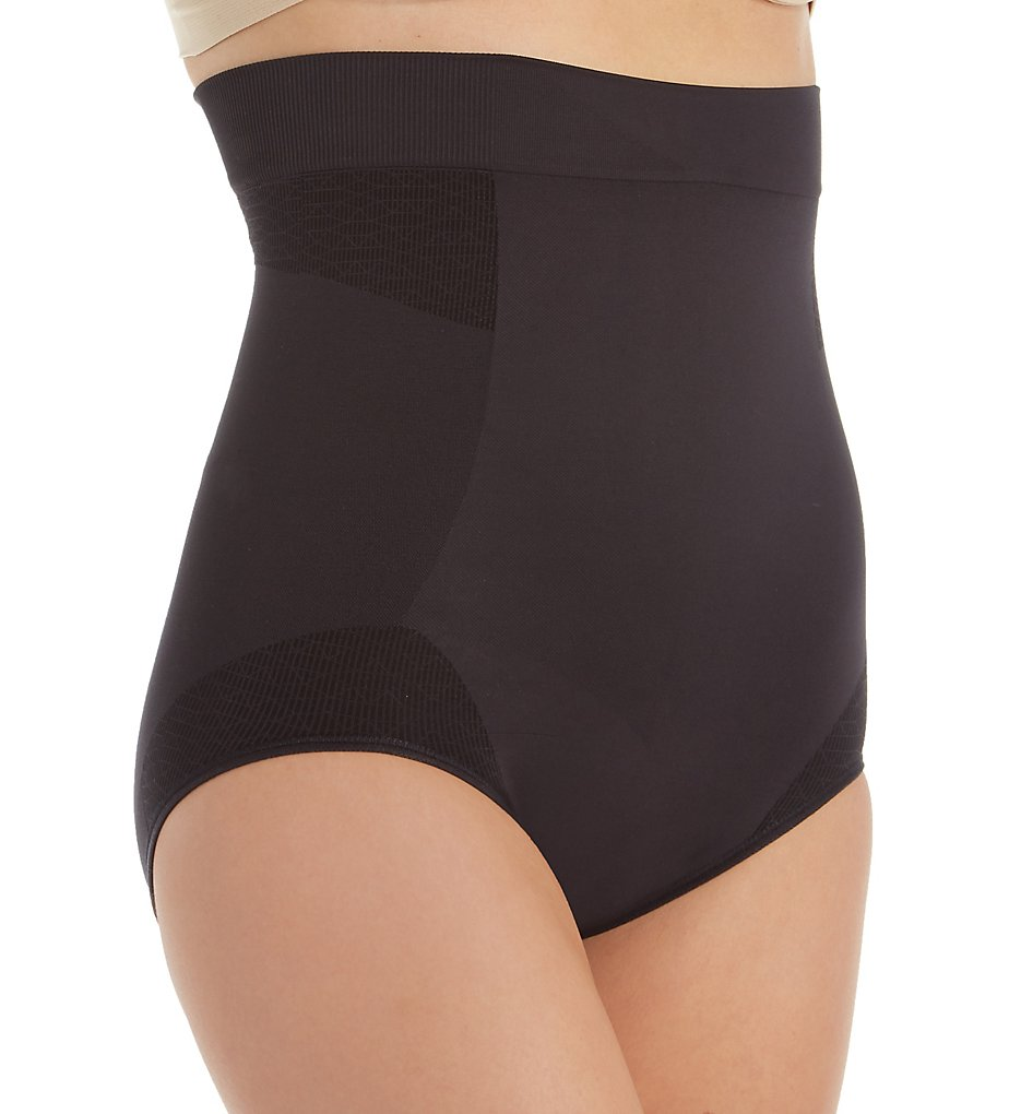 Bali - Bali DF0049 Comfort Revolution Firm Control High Waist Brief (Black M)