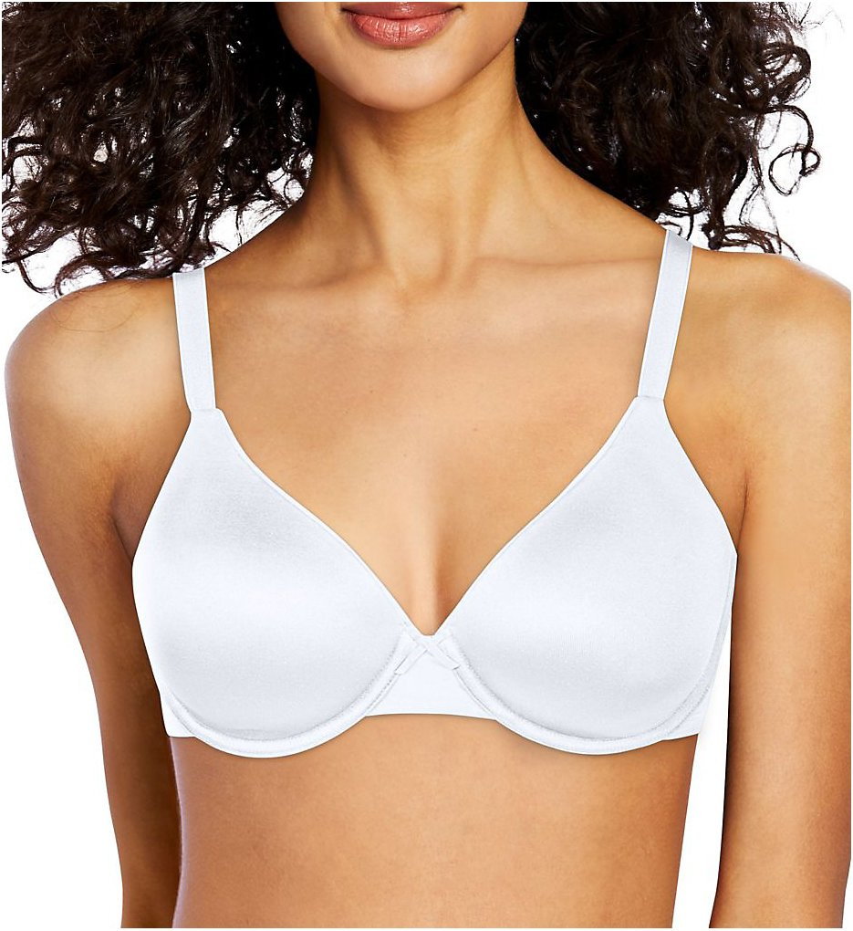 Bali : Bali DF0082 Passion for Comfort Back Smoothing Underwire Bra (White 34C)