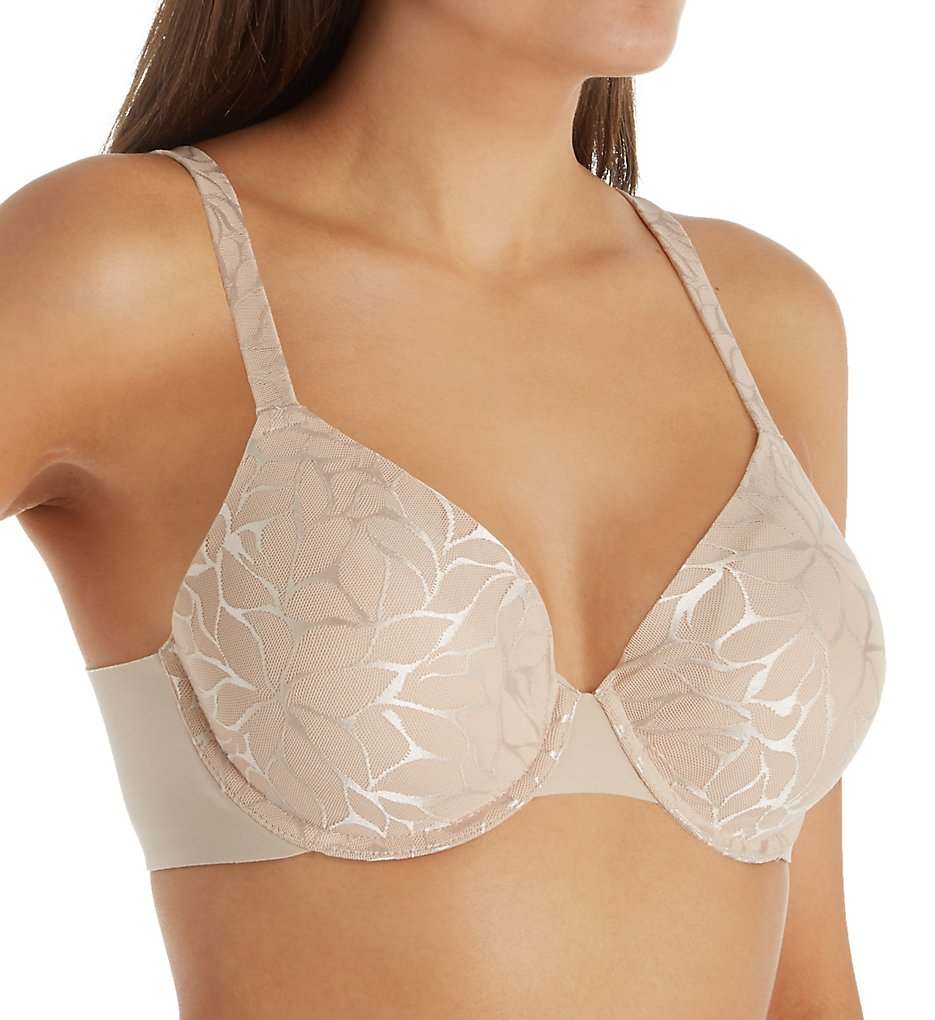 Bali DF0085 Beauty Lift Invisible Support Underwire Bra (Paris Nude Lace)