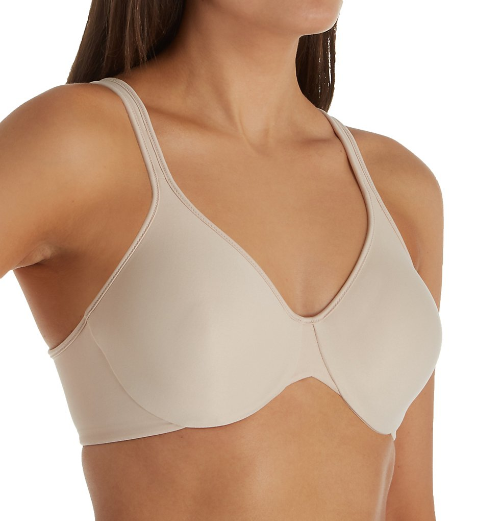 Bali DF3382 Passion For Comfort Back Smoothing Underwire Bra (Soft Taupe)